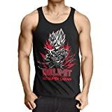 style3 Push Your Limit Herren Tank Top Roshi Ball z Roshi Songoku Dragon, Größe:L