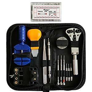 kit r paration de montre outils professionnel 300 pi ces dans une boite par kurtzy ensemble de. Black Bedroom Furniture Sets. Home Design Ideas