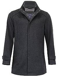hommes laine mélangée Veste Tokyo Laundry manteau col large double col doublé hiver