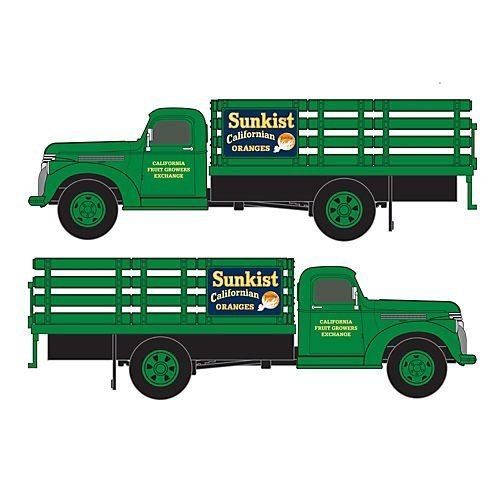 ho-1941-46-chevy-stakebed-truck-sunkist-growers-by-classic-metal