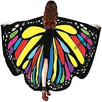 Xmiral Moda Chal de Alas de Mariposa Duendecillo para Mujer Chicas Capa de Muchacha Accesorio para