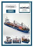 #5: Hmv 3366 Papermodel Container Ship Conti Belgica