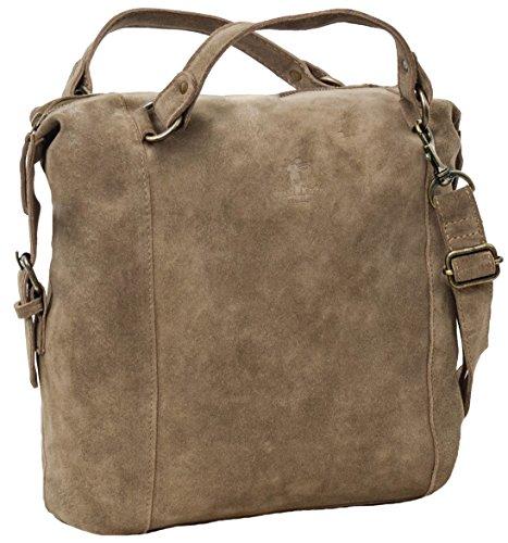 "Sac cabas - Gusti Cuir studio ""Isabelle"" sac en cuir vintage sac de shopping rétro sac à main sac en bandoulière sac de loisirs homme femme cuir marron 2H20-26-1 c"