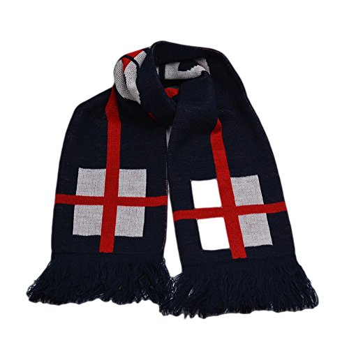 ignitonfit Football Scarves - England International Soccer Scarf for World Cup Qualification Campaign