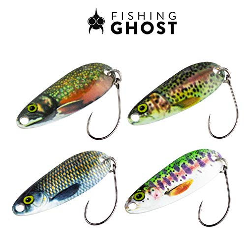 FISHINGGHOST Forellen Spoon Set REALLYone, 3,2gr, 3,5cm