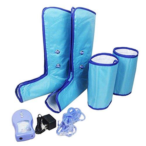 ZW Massager Bein Gesundheitswesen Luft Kompression Beine Massage Airbag Pneumatische , Blue