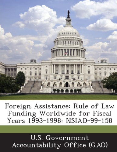 Foreign Assistance: Rule of Law Funding Worldwide for Fiscal Years 1993-1998: Nsiad-99-158