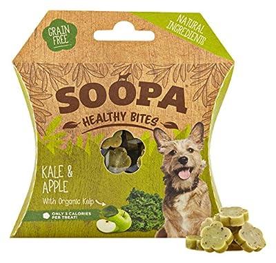 Soopa Kale and Apple Healthy Bites Dog Treat, 50 g