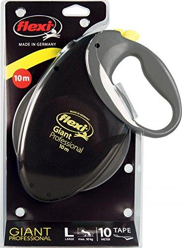 flexi Roll-Leine Giant Professional Gurt 10m schwarz für Hunde bis max. 50 kg - 3