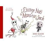 le livre et une figurine Étrange Noël de Mr Jack