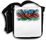 Azerbaijan Eurasia Baku Country Series Nationality Flag Nice to Schultertasche