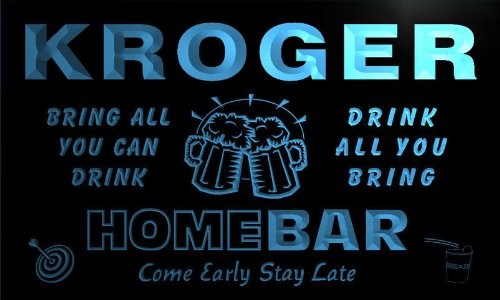 q24520-b-kroger-family-name-home-bar-beer-mug-cheers-neon-light-sign