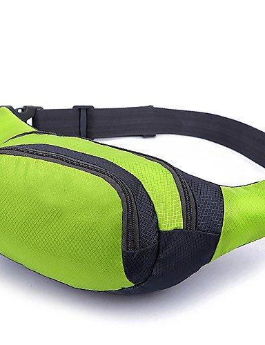 ZQ Handy-Tasche / Gürteltasche ( Grün / Rot / Blau / Orange , 2 L) Wasserdicht / tragbarCamping & Wandern / Fitness / Legere Sport / Reisen Red