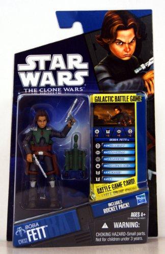 Star Wars The Clone Wars Boba Fett Junior CW32 ()