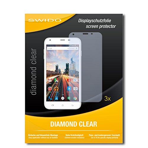 3-x-swidor-film-protecteur-archos-55-helium-protection-decran-feuille-diamondclear-invisible