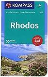 Rhodos: Wanderführer mit Extra-Tourenkarte 1:55000, 55 Touren, GPX-Daten zum Download. (KOMPASS-Wanderführer, Band 5972) - Michael Will