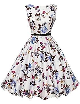 Vestito da donna,feiXIANG® Abito Abiti Vestito da Matrimonio damigella d'onore di cerimonia nuziale gonna floreale...