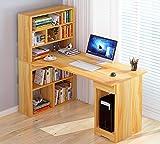 Czqlcyl L Corner Computer Desk - Desk Rack Home Office Site
