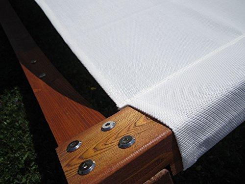 XXL Sonnenliege Doppelliege Gartenliege Hängematte Doppel Liege Gartenmöbel extrabreit für 2 Personen Modell SAONA von AS-S - 5