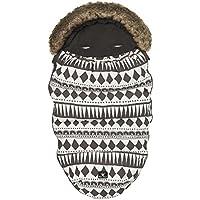 Elodie Details - Saco Stroller Bag para Silla de Paseo Graphic Devotion negro/blanco