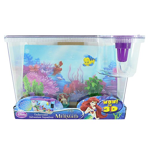 The little mermaid disney big eye fish aquarium fish tank for The little mermaid fish