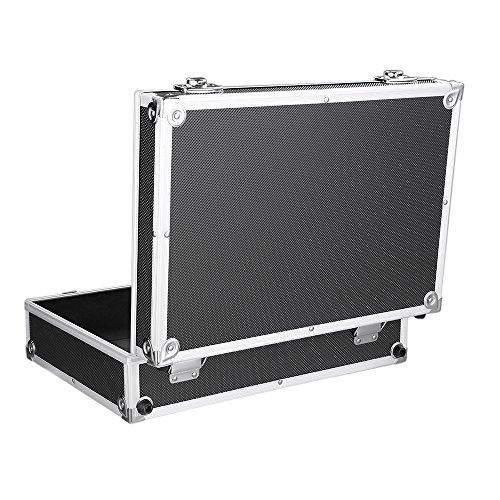iKayaa 3er Set Transportkoffer Werkzeugkoffer mit Aluminiumrahmen und ABS - 6