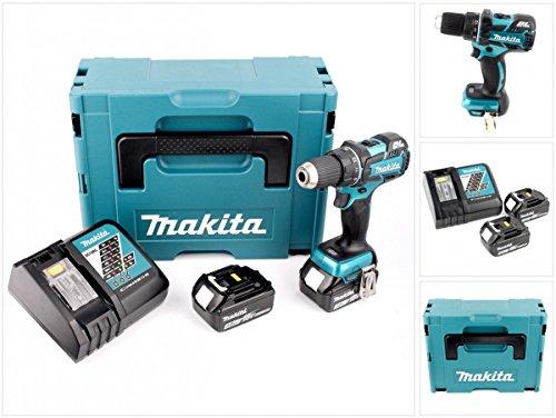 Preisvergleich Produktbild Makita DDF 480 RFJ 18 V Brushless Akku Bohrschrauber im Makpac mit 2 x 3,0 Ah Akku + Lader