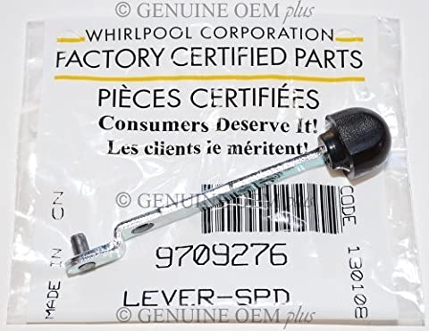 PART # 9709276 GENUINE FACTORY OEM ORIGINAL STAND MIXER SPEED CONTROL LEVER FOR KITCHENAID WHIRLPOOL by KITCHENAID