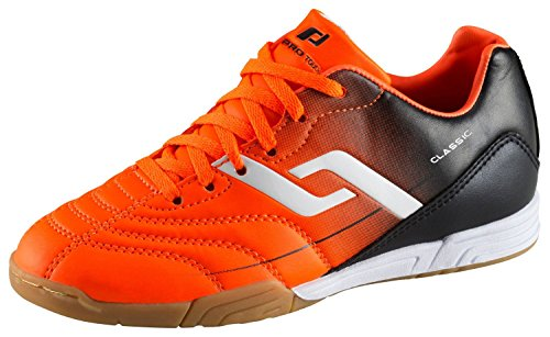 PRO TOUCH enfants Halls–fussballschuh Classic dans Jr Orange/Noir Orange/noir - Orange/Noir