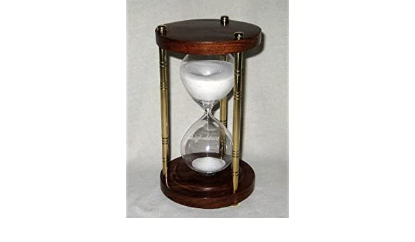 Large Decorative Hourglass Egg Timer 60 Minutes, height 22 5