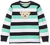 Steiff Collection Jungen Sweatshirt 1/1 Arm 6832893, Mehrfarbig (y/d Stripe 0001),80