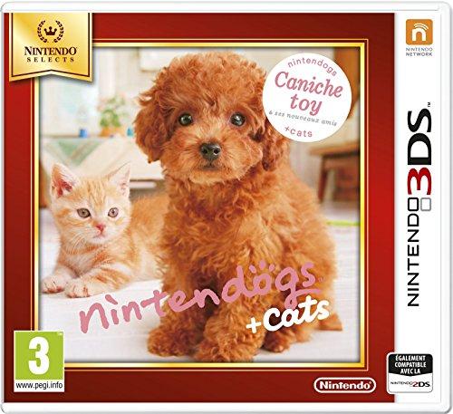 Nintendogs + Cats Caniche Toy & Ses Nouveaux Amis - Nintendo Selects [Importación Francesa]