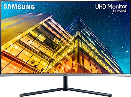Samsung U32R594CWU Computerbildschirm 80 cm (31.5 Zoll) 4K Ultra HD LCD Gebogen Grau - Computerbildschirme (80 cm (31.5 Zoll), 3840 x 2160 Pixel, 4K Ultra HD, LCD, 4 ms, Grau)