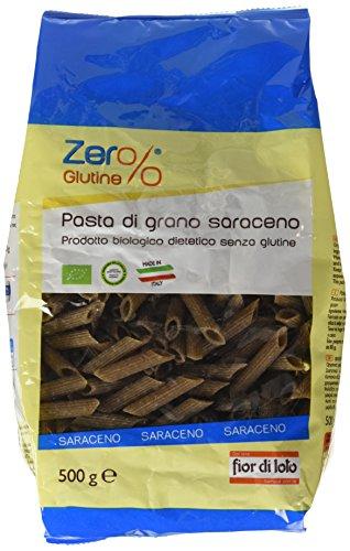 Zero Glutine Penne di Grano Saraceno, Senza glutine - 3 pezzi da 500 g (1500 g)