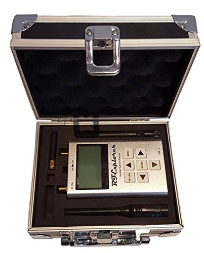 RF Explorer 6G Combo Handheld Spectrum Analyzer with Aluminium Case Free +  Downloadable Software