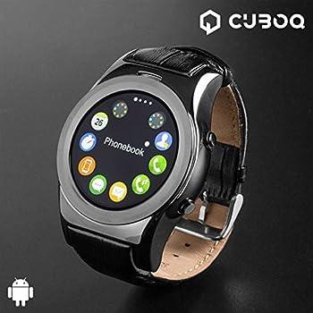 Smartwatch CuboQ Health Sensor: Amazon.es: Deportes y aire libre