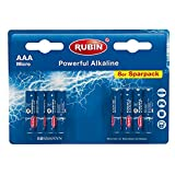 RUBIN Powerful Alkaline Batterien AAA 8St