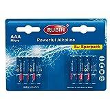 RUBIN Powerful Alkaline Batterien AAA 8St
