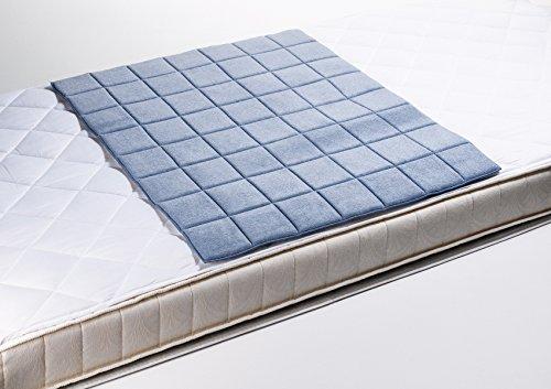 Microfaser Inkontinenzmatte, Inkontinenzauflage, Matratzenauflage, Nässeschutz, ca. 75×80 cm / auch für Hunde, waschbar - 2