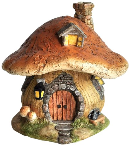 Top Collection Miniatur-Fairy Garden und Terrarium Mushroom Fairy House Statue -
