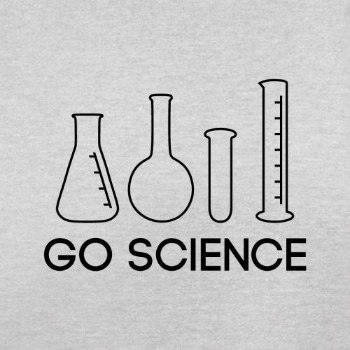 Go Science - Herren T-Shirt - 13 Farben Hellgrau
