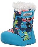 Bogs Baby Bmoc Monsters Snow Boot, Dark Blue/Multi, 6 M US Toddler