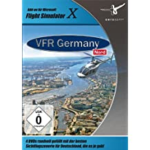 Flight Simulator X - VFR Germany 2: Nord (DVD-ROM)