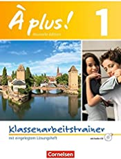 À plus ! - Nouvelle édition / Band 1 - Klassenarbeitstrainer mit Lösungen und Audio-Materialien