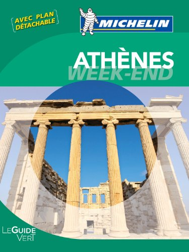 Le Guide Vert Week-end Athènes Michelin