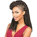 12 inches Black colour 1B Rumba Twist: style of Havana Mambo & Senegalese twist Crochet. by African Collection
