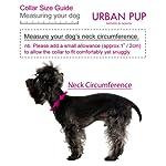"UrbanPup Pink Hearts Bandana (Small - Dog Neck Circumference, adjusts: 8"" to 11"" / 20cm to 28cm) 7"
