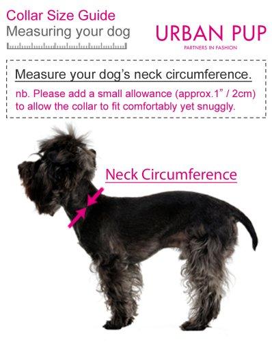 "UrbanPup Pink Hearts Bandana (Small - Dog Neck Circumference, adjusts: 8"" to 11"" / 20cm to 28cm) 3"