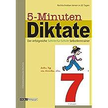 5-Minuten-Diktate, neue Rechtschreibung, 7. Schuljahr