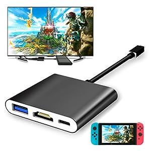 FYOUNG yuanhot USB zu HDMI Adapter für Nintendo der U89Schalter/Samsung S8/MacBook